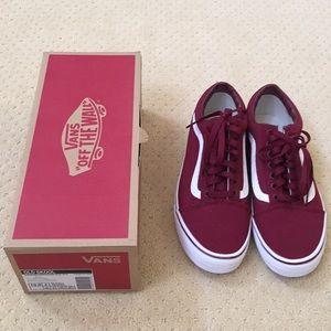 Vans Shoes - Vans Old Skool Canvas Cordovan f20e332d38ae